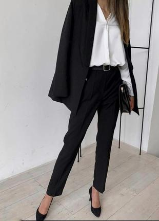 Брючный костюм брюки +пиджак
