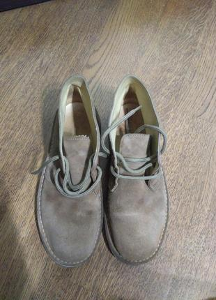 Дезерты нубуковые ботиночки испания