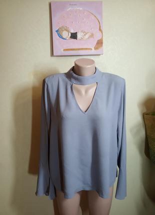 Блуза лавандового цвета 16 размер