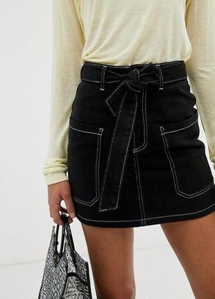 Классная стильная мини- юбка