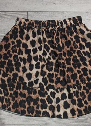 Тренд леопардова легка струяща спідничка 50 грн.