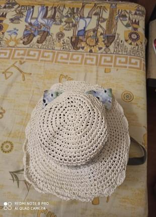 Шляпа на 5-6 лет