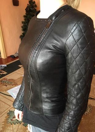 Кожаная курточка.косуха.