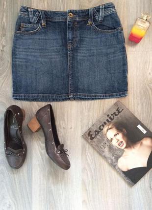 Красивейшая джинсовая юбка esprit.
