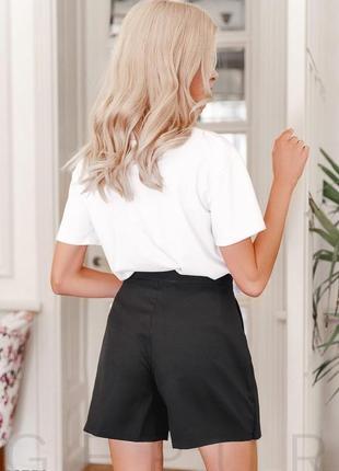 Стильная юбка-шорты3 фото