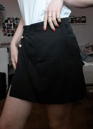 Стильная юбка-шорты5 фото