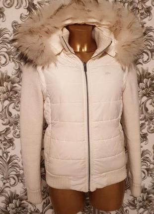 Lacoste   двухсторонняя женская куртка.