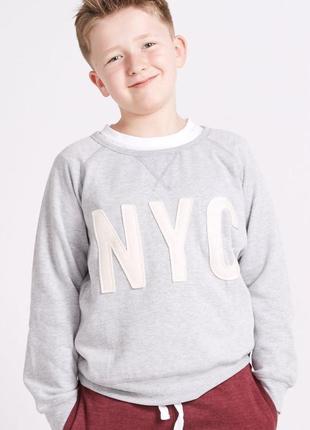 Свитшот nyc riot club на мальчика 8-9 лет #розвантажуюсь