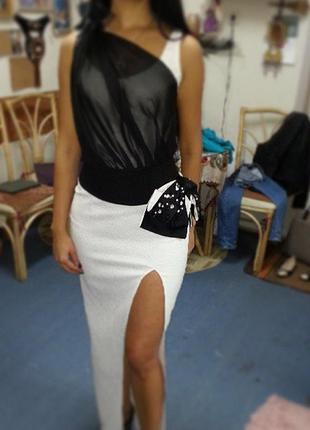 Дизайнерская  шикарная блуза
