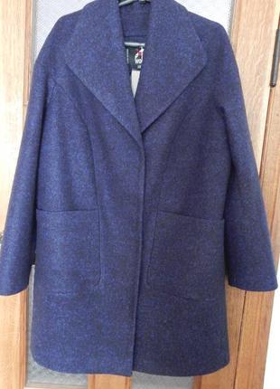 Демисезонное пальто тм x-woyz, 48р.