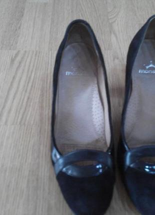 Замшевые туфли monarсh