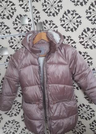Модная куртка осень и теплая зима