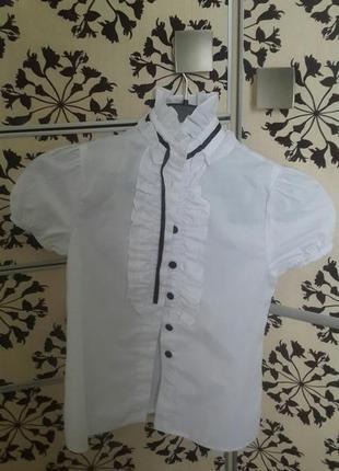 Беломнежная блузка