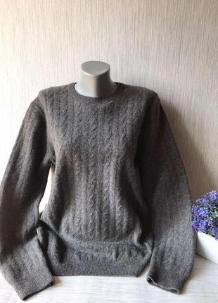 Фирменный мужской свитер barbour.