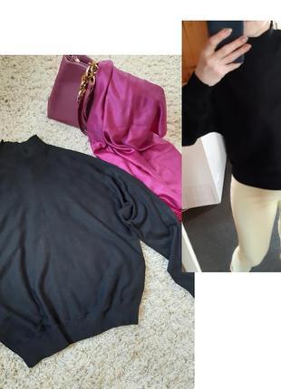 Стильный комфортный, легкий обьемный свитер ,h&m, p. 10-12