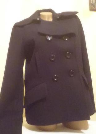 Пальто 60%шерсть 40%вискоза
