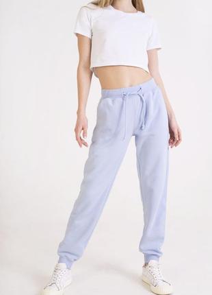 Небесно-голубые штаны2 фото
