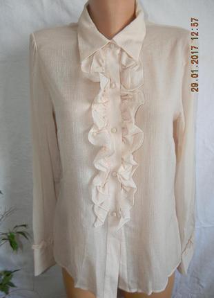 Натуральная шелковая блуза