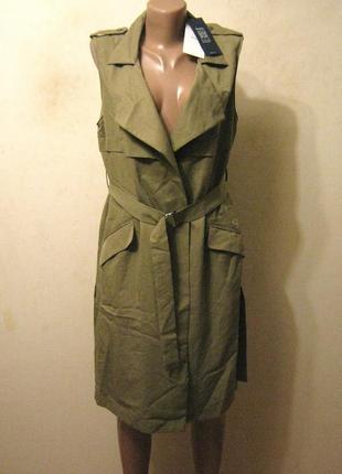 Bershka жилет - плащ ,размеры с - м - л арт.980 + 2000 позиций магазинной одежды