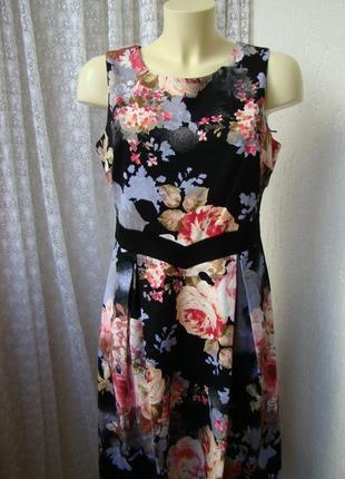 В наличии платье элегантное миди luxe d perkins р.48 №7473