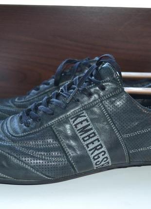 Bikkembergs 43р кроссовки ботинки сникерсы. кожаные. оригинал