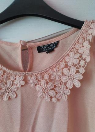 Блузка нежно розового цвета