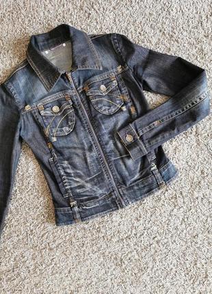 Джинсовий піджак джинсовка