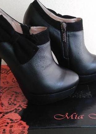Женские ботинки полусапожки mia map