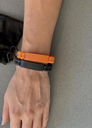 Силиконовые браслеты marc by marc jacobs