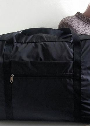 Сумка дорожная ручная кладь на чемодан длявещей легкая тонкая украина
