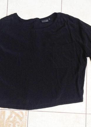 Блуза, комбинация тканей! обалденная от next