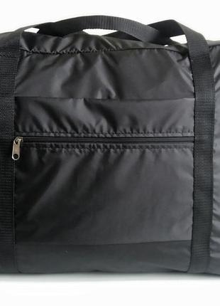Сумка дорожная ручная кладь на чемодан длявещей легкая тонкая украина3 фото
