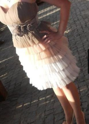 Плаття платье нарядное фатин праздничное