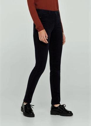 Зауженные брюки вельветовые от united colors of benetton