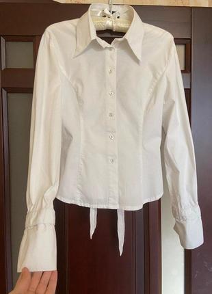 #розвантажуюсь,рубашка, белая рубашка, белая рубашка с открытой спиной3 фото
