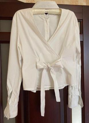 #розвантажуюсь,рубашка, белая рубашка, белая рубашка с открытой спиной1 фото
