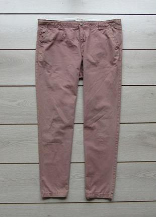Укороченные хлопковые брюки от marks & spencer