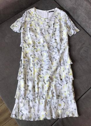 Frank walder модный дорогой бренд стильное нежное платье