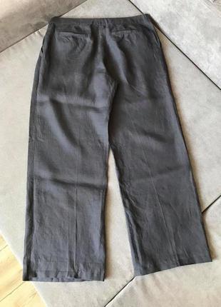 Gunex 100% лен! идеальные  базовые стильные брюки brunello cucinelli
