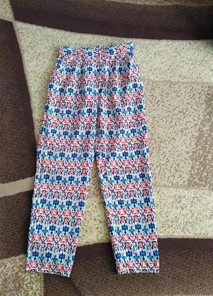 Легкие шифоновые брюки