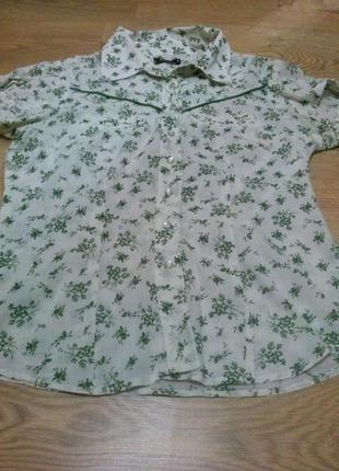 Vila милая блузочка в цветочный принт
