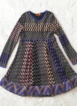 Платье на подкладке missoni