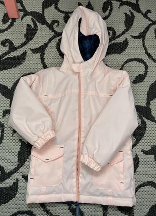 Курточка для дівчинку 3-4 роки