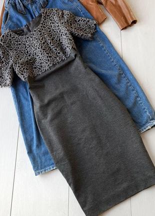 Шерстяное платье escada оригинал