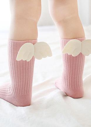 Носочки с крылышками