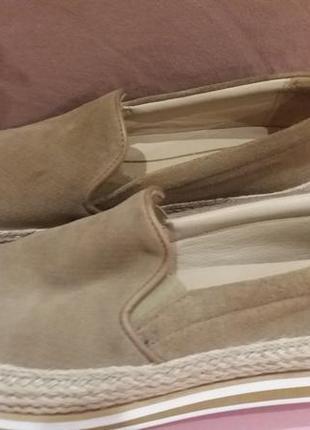 Мокасини туфлі  массімо дутті шкіра замша