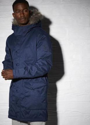 Мужская куртка reebok ay1239 ( пуховик , парка )