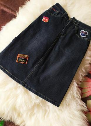 Очень классная джинсовая юбка