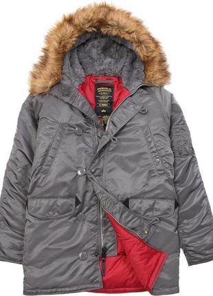 Куртка alpha industries n-3b slim fit parka.