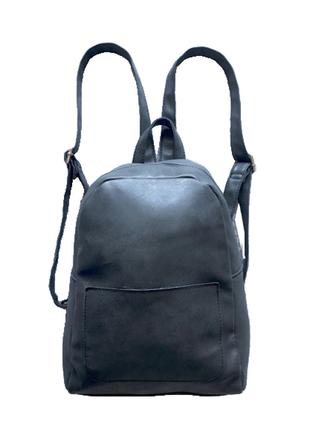 Рюкзак кожаный средний черный купить цена